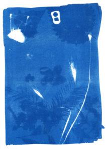 Berliner Blau in der Galerie im Körnerpark